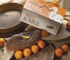Anatra arancia astuccio Borsari