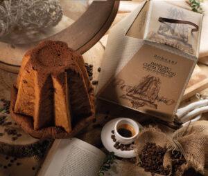 Pandoro crema tiramisù e gocce di cioccolato i rustici Borsari