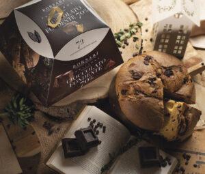 Panettone gocce cioccolato fondente 70% 72 ore Borsari