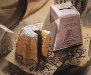 Pandoro gocce di cioccolato Borsari rustici