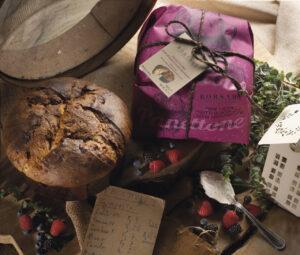 Panettone frutti bosco mascarpone Borsari Rustici