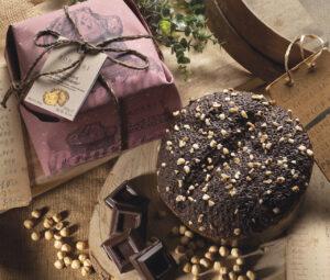 Panettone gran cioccolato Rustico Borsari Maestri Pasticceri