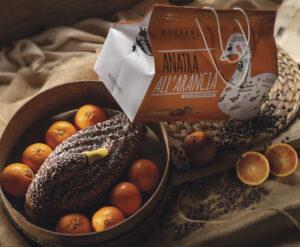 Anatra all'arancia in shopper Borsari