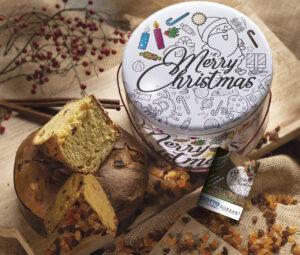 Latta da Colorare Merry Christmas Borsari